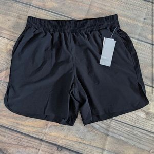 ZELLA black high waist shorts NWT M